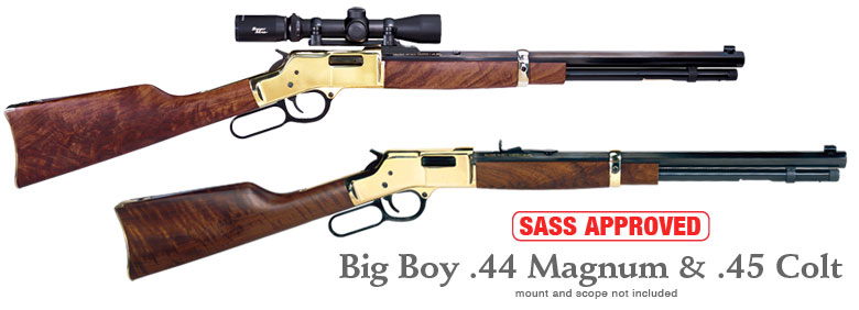 Henry Big Boy 45LC and Henry Big Boy .44 Magnum