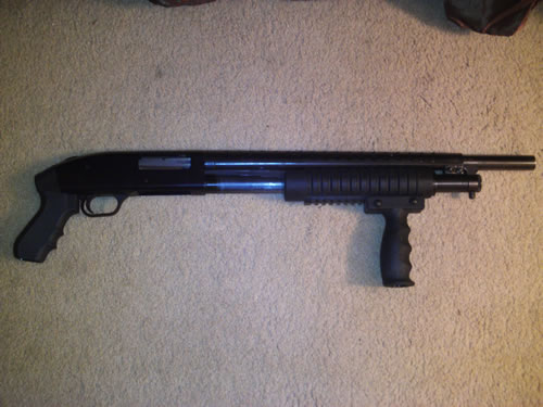 Mossberg 500A Pistol Grip Handle Pump