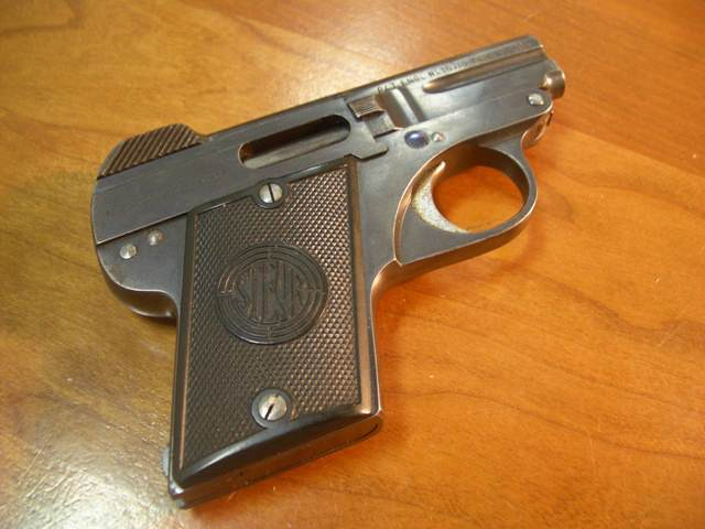 Steyr Model 1908 Pocket Pistol .25acp