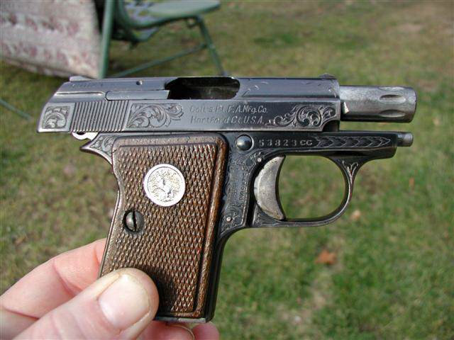 Colt Junior .22 short, Highly engraved CCA special