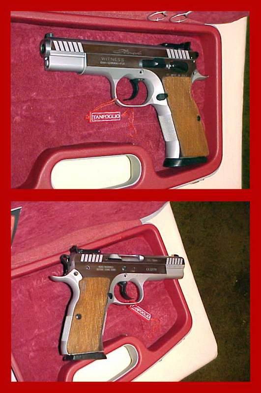 Witness Md Stock 45ACP Pistol