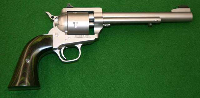 Freedom Arms Model 252 . 22 Casull Revolver