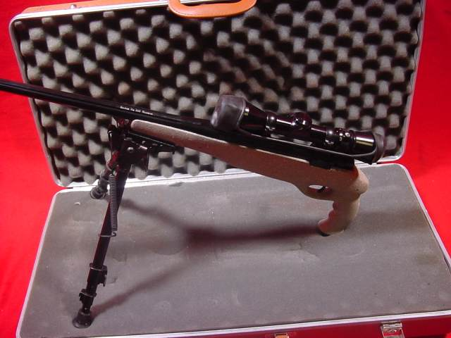 Sako/Bill Wiseman Custom .308 Pistol Leupold 2.5-8