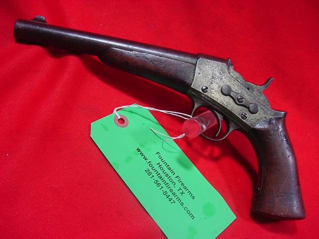 Remington 1871 Rolling Block Pistol .50 Cal