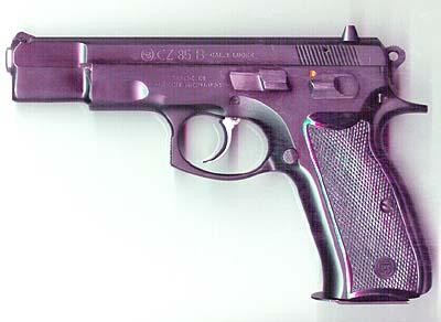 CZ85 9mm Pistol