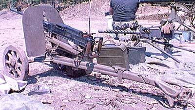 SG43 on correct wheeled mount with correct ammo can