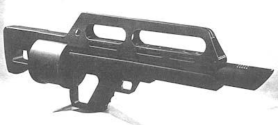 Jack Hammer Shotgun (BullPup)