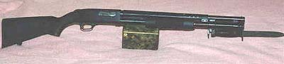Mossberg 590 Military with bayonet