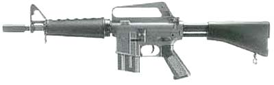 M16 Shorty from Sweden