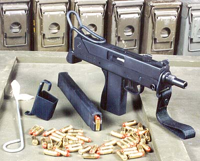 SWD M11/9mm SMG w/Zytel mag. & loading device