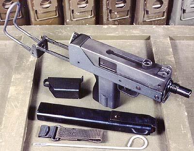 MAC-10 .45 w/modified U.S. M3-M3A1 Grease Gun Mag & Loading device