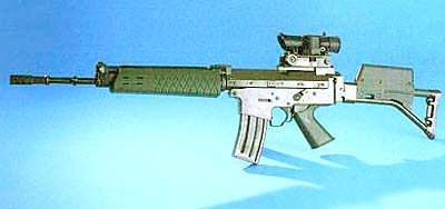 AK5B (Swedish) with SUSAT sights