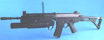 AK5 (Swedish) with 40mm Colt Morter