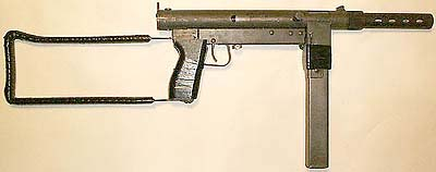 Stemple 45 ACP smg (Commercial copy of S&W 76