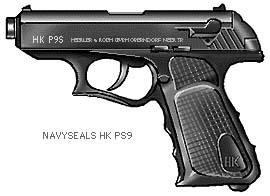 HK P9S .45 ACP & 9mm