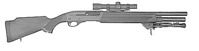 Remington 1187 Magnum Urban Sniper Model