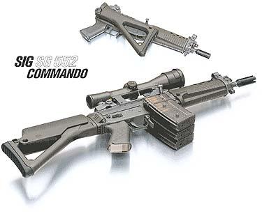 SIG 552 Commando