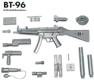 BT-96 Swiss made semi-auto MP-5