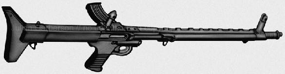 TRW Low Maintenance rifle