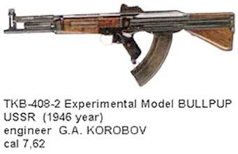 TKB-408-1 USSR Bullpup