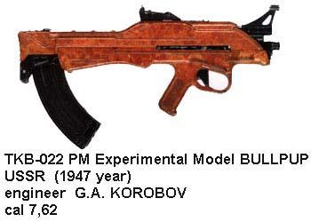 TKB-022 USSR Bullpup