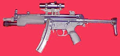 HK MP5 with accessories