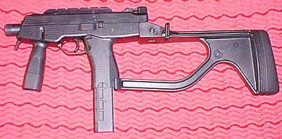 Steyr TMP w/ side folder stock