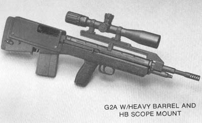 AWC G2 Bullpup heavy barrel, redesigned weapon based on M14