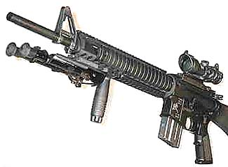 Knight Armament Modular Weapon System for M16/M4.