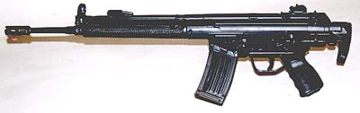 HK93A3 with slim forearm.