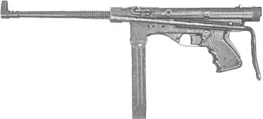 Vigneron (Belgian) SMG. Only 1 transferable known to exist.