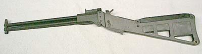Ithaca M-6 Survival Gun. Marked Property of USAF, .22 Hornet top, .410 gauge bottom. 14