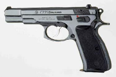 CZ-75B/BD 9mm / 9x21 / .40 S&W