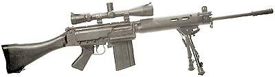 FN L1A1 Sniper Rifle 7.62 NATO