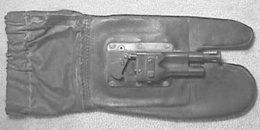 Glove Gun .38 S&W Dev for Office of Navel Intelligence WWII