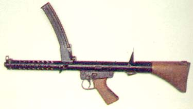 F1 9mm Smg based on Owen Gun of WWII