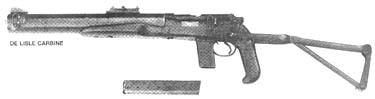 De Lisle Carbine .45