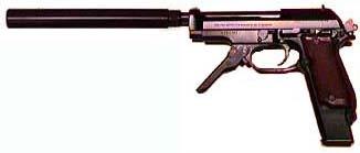 Beretta 93 Suppressed
