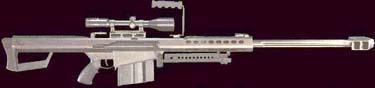 Barrett M-82A1 .50 BMG Sniper Rifle