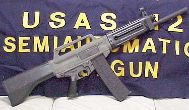 USAS-12 Semi-Auto Shotgun