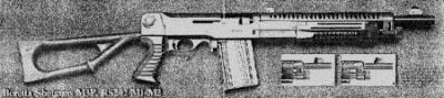 Beretta M3P Shotgun