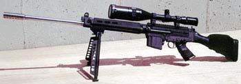 FN-FAL Sniper Rifle w/custom muzzle brake & 10 Rd magazine