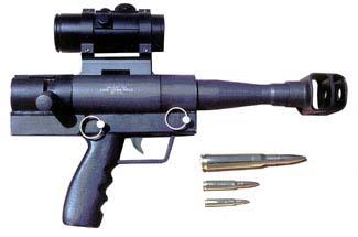 .50 BMG pistol