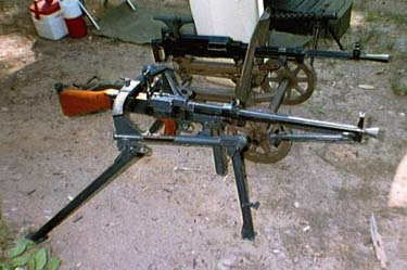 VZ59 On correct tripod. Very Rare Czech machinegun