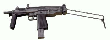 PM84P (Parabellum) - small machine pistol - in use in Army and Police.