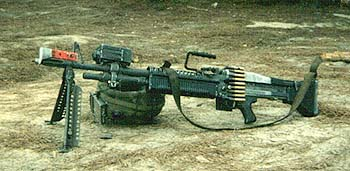 M60 With Miles Gear & 7.62 Belted Blanks