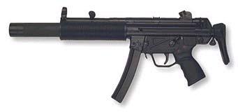 HK MP5 SD3