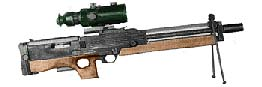 Walther WA-2000 Sniper Rifle