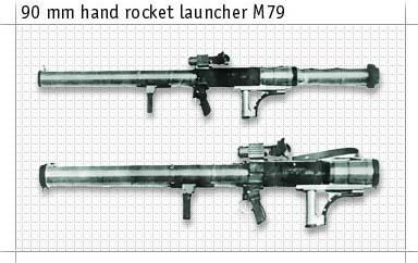 M-79 90mm Rocket Launcher