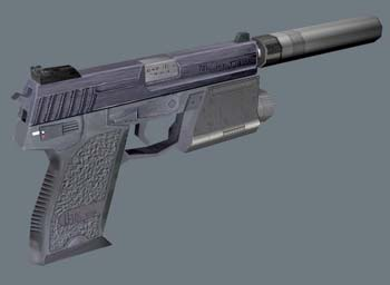 HK USP .45 Suppressed